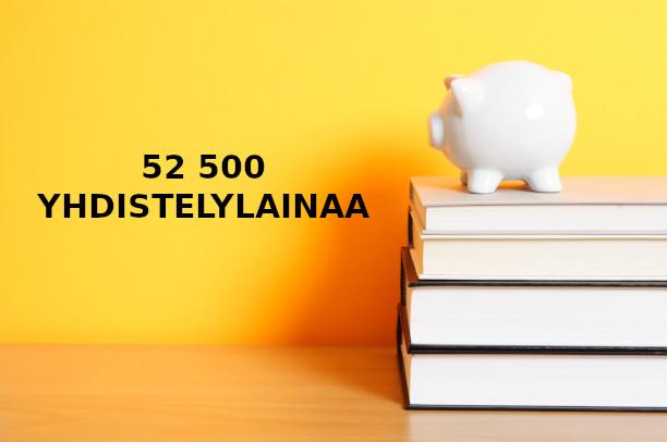 Jo 52 500 yhdistelylainaa myönnetty kauttamme